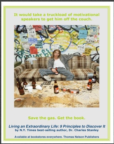 Guy on Couch - Extraordinary Life